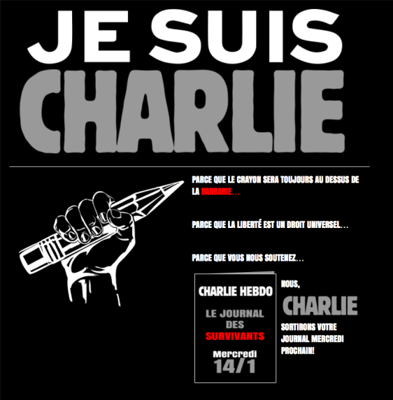 Il settimanale satirico Charlie Hebdo